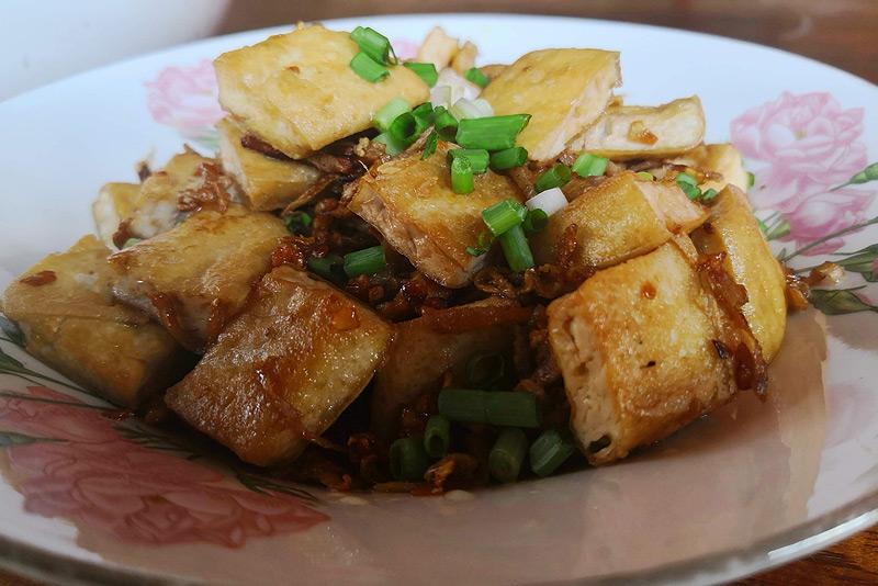 Dine With The Locals, Kambodscha, vegetarisches Essen, Küche, Rezepte, Khmer-Food, gebratener Tofu mit Ingwer, www.wo-der-pfeffer-waechst.de