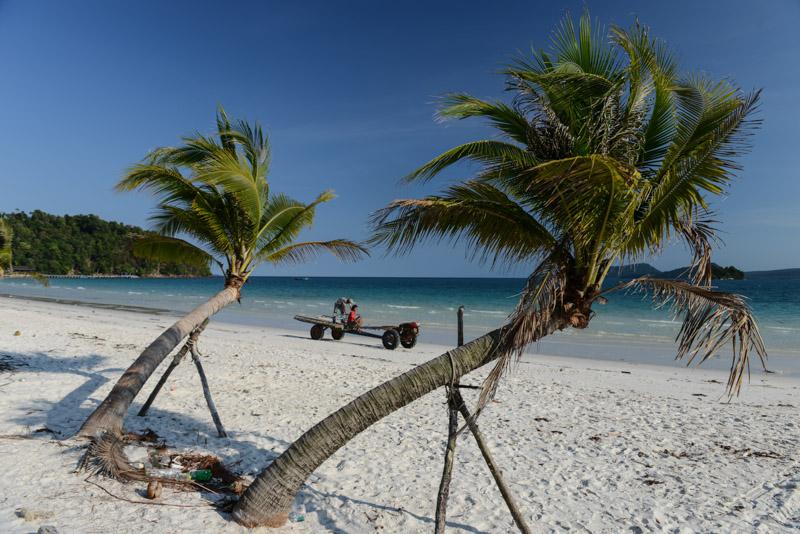Long Set Beach, 4K Beach, Koh Rong Beach Guide, Kambodscha, Insel, Strand, die schönsten Strände, Palmen, Cambodia, Südostasien, Bilder, Fotos, Reiseberichte, www.wo-der-pfeffer-waechst.de