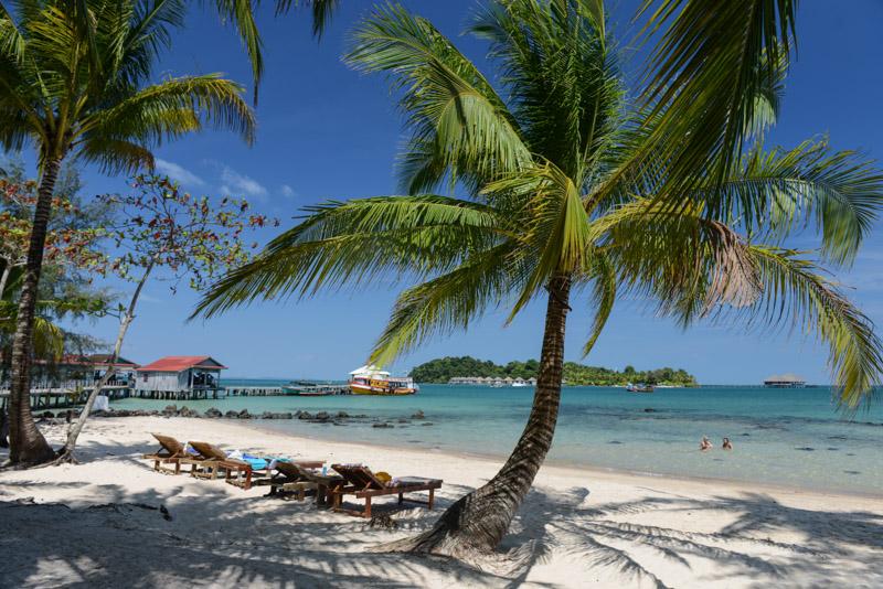 Palm Beach Bungalow Resort, Koh Rong Beach Guide, Kambodscha, Insel, die schönsten Strände, Strand, Song Saa Private Island Resort, Cambodia, Südostasien, Bilder, Fotos, Reiseberichte, www.wo-der-pfeffer-waechst.de