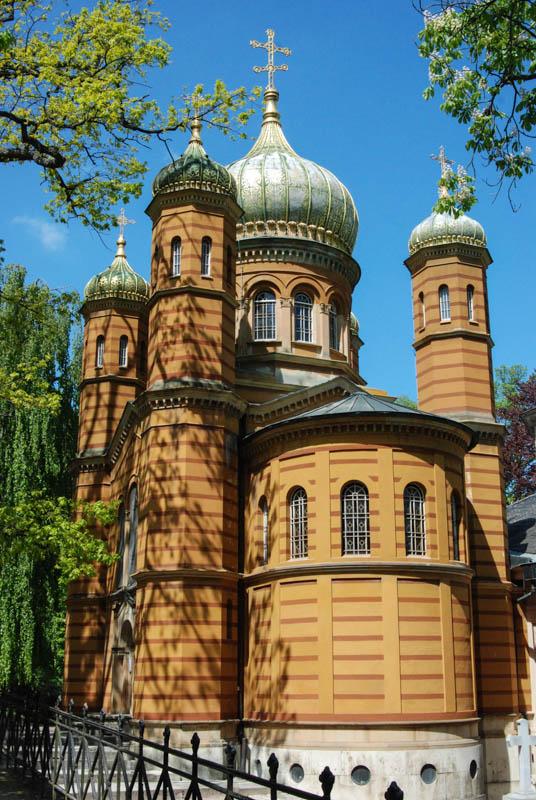 Russisch-orthodoxe Kirche mit Zwiebeltürmen, Weimar, Sehenswürdigkeiten, Städtetrip, Reisebericht, Deutschland, Thüringen, www.wo-der-pfeffer-waechst.de