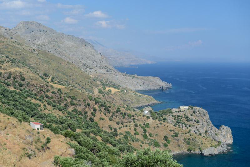 Panoramastraße von Plakias nach Frangokastello Kreta, Reisebericht, Griechenland, Urlaub, Mietwagen, Bilder, Fotos, Südeuropa, www.wo-der-pfeffer-waechst.de