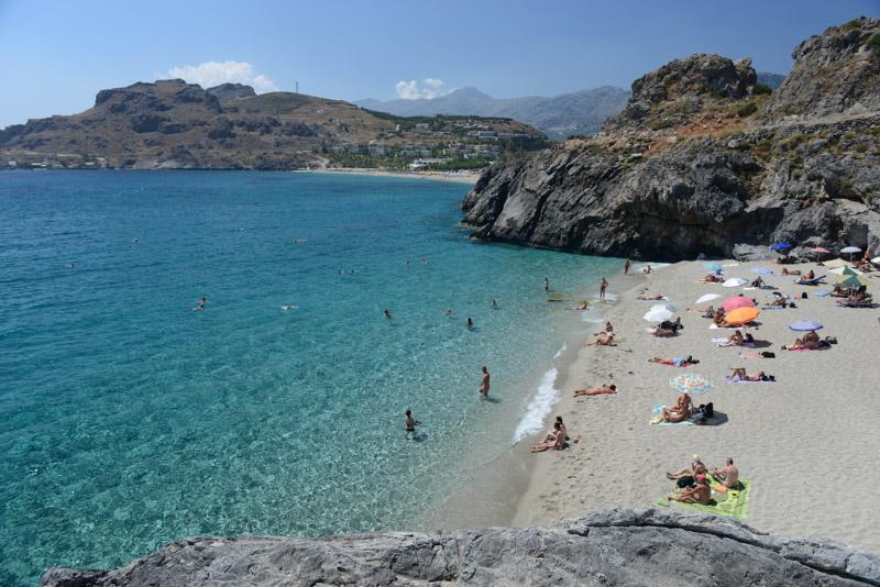 Ammoudaki Beach, Plakias, schönste Strände Kretas, Reisebericht, Griechenland, Urlaub, Bilder, Fotos, Südeuropa, www.wo-der-pfeffer-waechst.de