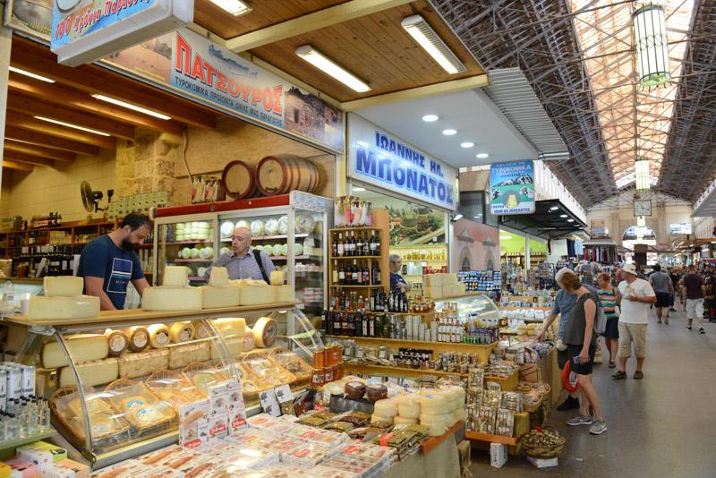 Chania, Markthalle, Reisebericht, Kreta, Griechenland, Urlaub, Bilder, Fotos, Südeuropa, www.wo-der-pfeffer-waechst.de
