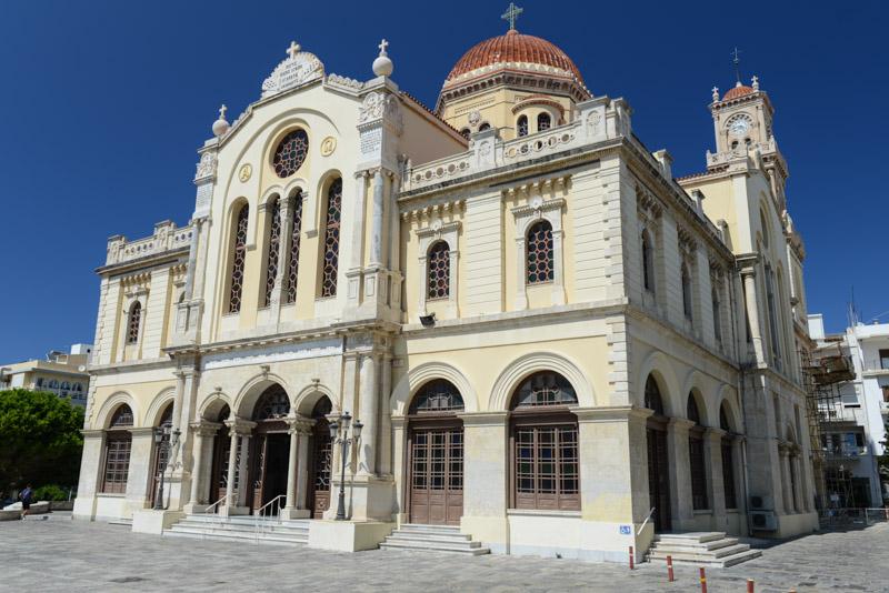 Heraklion, Iraklio, Minas-Kathedrale, Altstadt, Reisebericht, Kreta, Griechenland, Bilder, Fotos, Südeuropa, www.wo-der-pfeffer-waechst.de