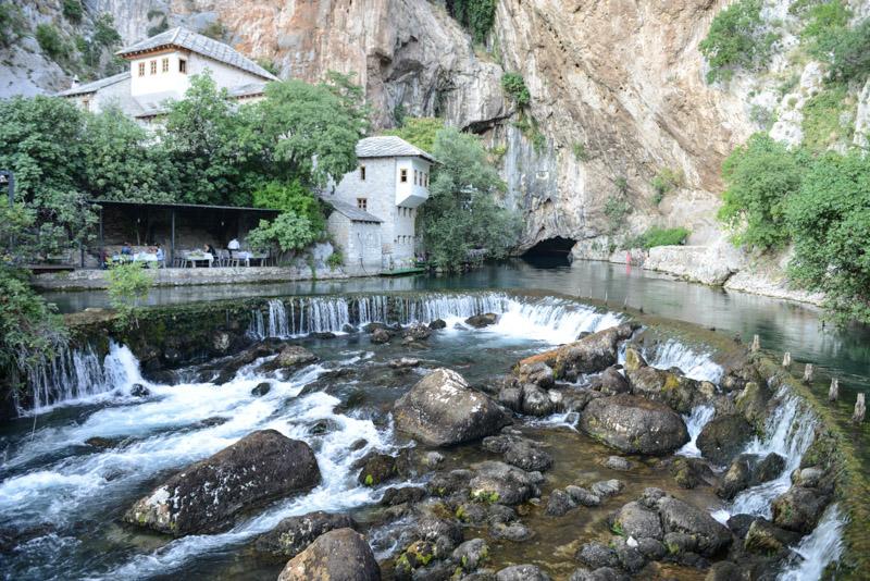 Blagaj, Mostar, Bosnien-Herzegowina, Tagestour, Rundreise, Sehenswürdigkeiten, Ausflüge, Reisetipps, Südosteuropa, Sommerferien, Sommerurlaub, Balkan, Bilder, Fotos www.wo-der-pfeffer-waechst.de