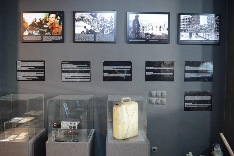 Mostar, Museum of War and Genocide Victims, Museum für Krieg und Völkermord, Bosnienkrieg, Bosnien-Herzegowina, Rundreise, Sehenswürdigkeiten, Ausflüge, Reisetipps, Balkan, Bilder, Fotos www.wo-der-pfeffer-waechst.de