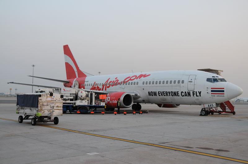 Air Asia, flights to Phnom Penh, Pochentong Airport, Flughafen, Reisebericht, Kambodscha, Hauptstadt, Cambodia, Reisetipps, Sehenswürdigkeiten, Südostasien, Bilder, Foto: Heiko Meyer, www.wo-der-pfeffer-waechst.de
