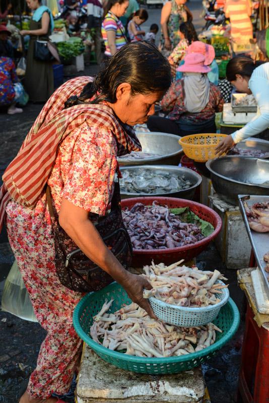 Psar Kandal, Phnom Penh, Markt, market, Reisebericht, Kambodscha, Hauptstadt, Cambodia, Reisetipps, Sehenswürdigkeiten, Südostasien, Bilder, Foto: Heiko Meyer, www.wo-der-pfeffer-waechst.de