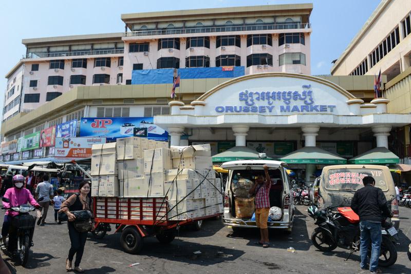 Orussey-Markt, Phnom Penh, Orussey market, Phsar Orussey, Reisebericht, Kambodscha, Hauptstadt, Cambodia, Reisetipps, Sehenswürdigkeiten, Südostasien, Bilder, Foto: Heiko Meyer, www.wo-der-pfeffer-waechst.de