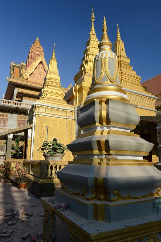 Wat Ounalom, Phnom Penh, Reisebericht, Kambodscha, Hauptstadt, buddhistischer Tempel, Stupa, Cambodia, Reisetipps, Sehenswürdigkeiten, Backpacking, Südostasien, Bilder, Foto: Heiko Meyer, www.wo-der-pfeffer-waechst.de