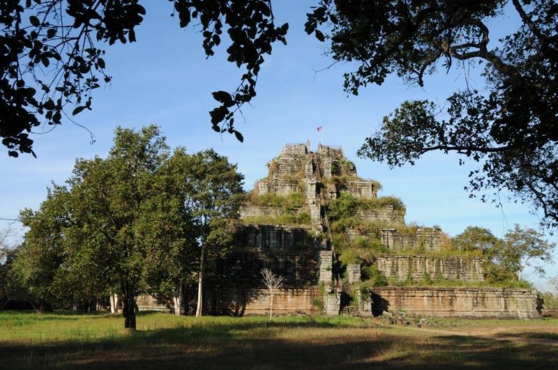 Koh Ker, Khmer, Haupttempel, Pyramide, Kambodscha, Reisebericht, Cambodia, Reisetipps, Backpacking, Südostasien, Bilder, Foto: Heiko Meyer, www.wo-der-pfeffer-waechst.de
