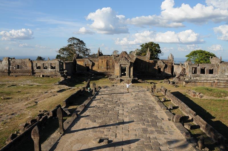 Preah Vihear, Khmer-Tempelruine, Kambodscha, Reisebericht, Cambodia, Motorradtour, Reisetipps, Backpacking, Südostasien, Bilder, Foto: Heiko Meyer, www.wo-der-pfeffer-waechst.de