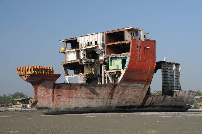 Abwrackwerften, Chittagong, ship breaking yards, Bangladesch, Schiff, Reiseberichte, Foto: Heiko Meyer, www.wo-der-pfeffer-waechst.de