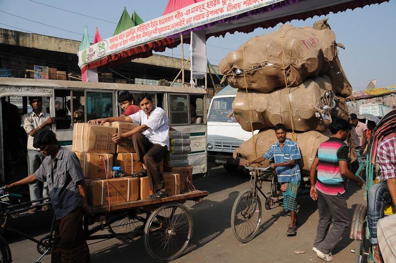 Bangladesch, Old Dhaka, Fahrradrikscha, Reiseberichte, Foto: Heiko Meyer, www.wo-der-pfeffer-waechst.de