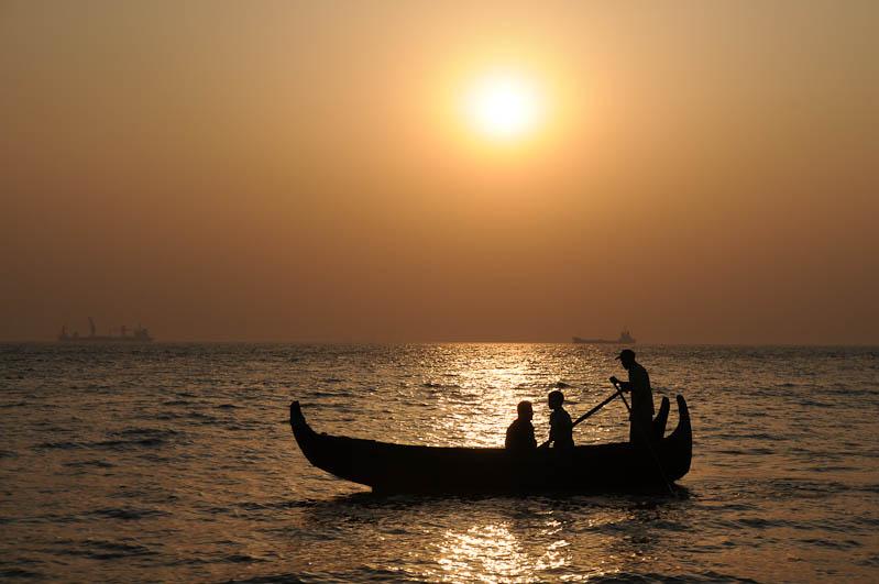 Chittagong, Patenga Beach, Strand, sunset, Sonnenuntergang, Bangladesch, Reiseberichte, Foto: Heiko Meyer, www.wo-der-pfeffer-waechst.de