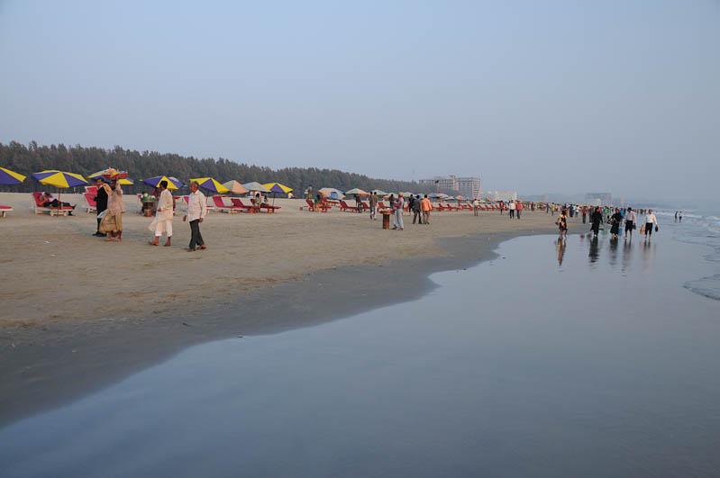 Cox's Bazar, Beach Strand, Bangladesch, Reiseberichte, Foto: Heiko Meyer, www.wo-der-pfeffer-waechst.de