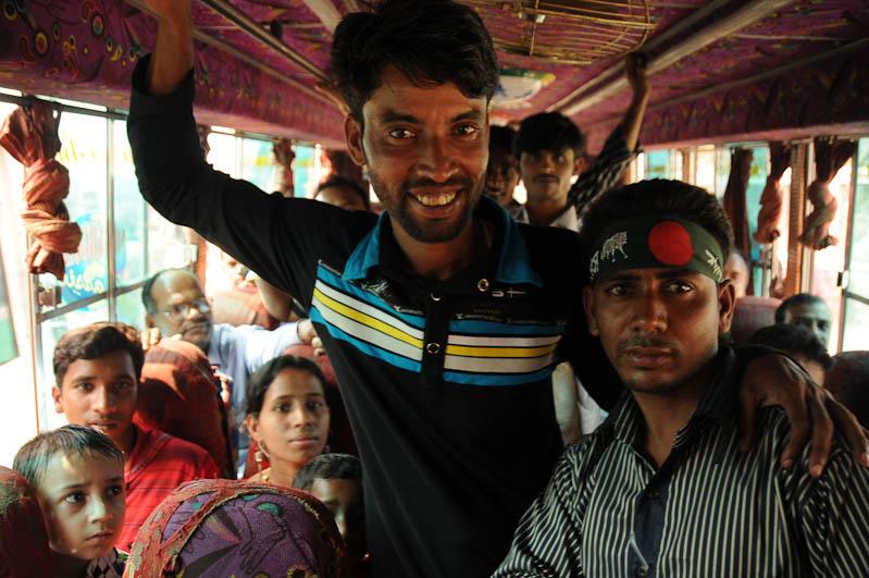 Dhaka, Bangladesch, Bus, Reiseberichte, Foto: Heiko Meyer, www.wo-der-pfeffer-waechst.de