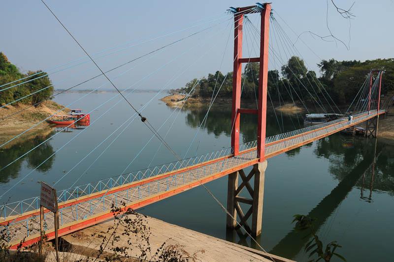 Rangamati, Chittagong Hill Tracts, Kaptai lake, See, Hängebrücke, bridge, Bangladesch, Reiseberichte, Foto: Heiko Meyer, www.wo-der-pfeffer-waechst.de