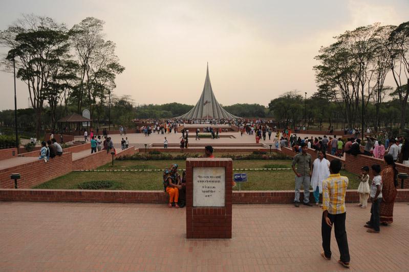 Savar, Monument, Dhaka, Tagesausflug, Tagestour, Bangladesch, Reiseberichte, Foto: Heiko Meyer, www.wo-der-pfeffer-waechst.de