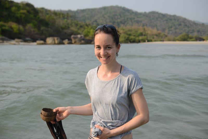 Palolem Beach, Goa, Strände, Strand, Südgoa, Indien, India, Ebbe, Julia, Südasien, Bilder, Fotos, Reiseberichte, Foto: Heiko Meyer, www.wo-der-pfeffer-waechst.de