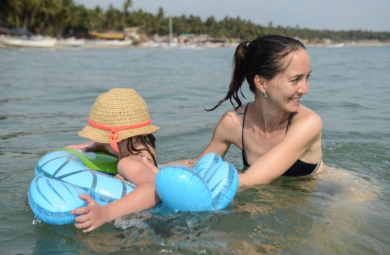 Reisen mit Kindern, Palolem Beach, Goa, Strände, Strand, Südgoa, Indien, India, Südasien, Bilder, Fotos, Osterferien, Reiseberichte, Foto: Heiko Meyer, www.wo-der-pfeffer-waechst.de