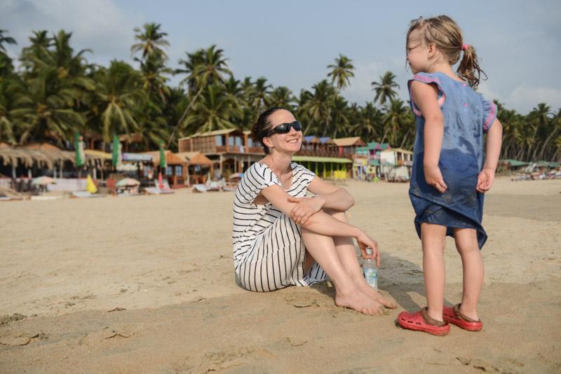 Goa mit Kindern, Palolem Beach, Goa Beach Guide, die schönsten Strände von Norden nach Süden, Strand, best beaches, Nordgoa, Südgoa, Indien, India, Beach-Hopping, Reisen mit Kindern, Indien mit Kindern, Südasien, Bilder, Fotos, Reiseberichte, Foto: Heiko Meyer, www.wo-der-pfeffer-waechst.de