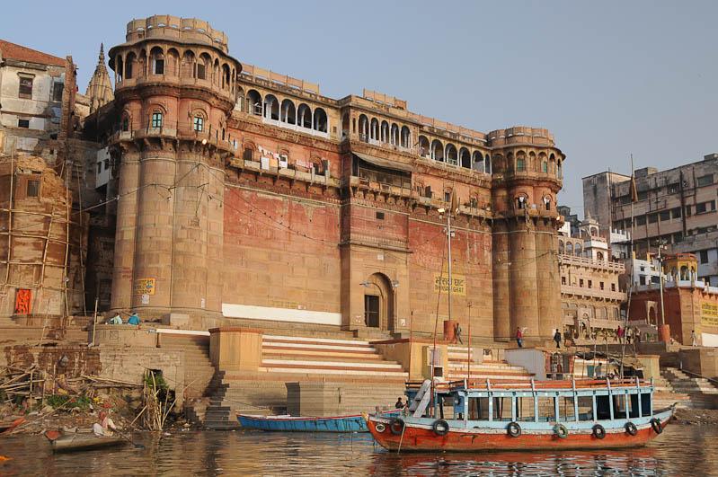 Varanasi, Indien, Ghats, Bhonsale-Ghat, Ganges-Ufer, heiliger Fluss, Reisebericht, Foto: Heiko Meyer, Bilder, Backpacking, Reiseblog, www.wo-der-pfeffer-waechst.de