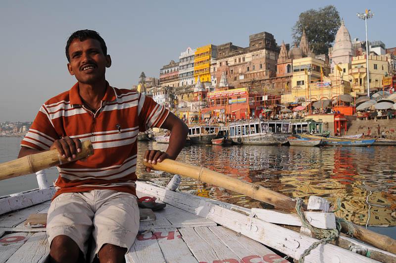 Varanasi, Indien, Bootstour, Ruderboot, Flusstrips, Ausflug, Ghats, Ganges, heiliger Fluss, Reisebericht, Foto: Heiko Meyer, Bilder, Backpacking, Reiseblog, www.wo-der-pfeffer-waechst.de