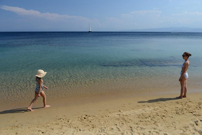 Agia Paraskevi Beach, Skiathos, Strand, Strände, Reisebericht, Griechenland, Reisen mit Kindern, Foto: Heiko Meyer, www.wo-der-pfeffer-waechst.de