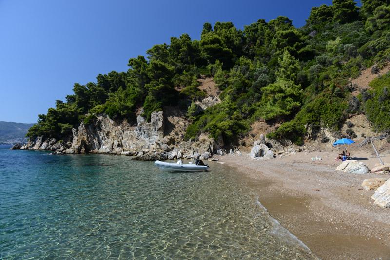 Arkos Beach, Skiathos, Griechenland, Strand, Strände, Reisebericht, Griechenland, Foto: Heiko Meyer, www.wo-der-pfeffer-waechst.de