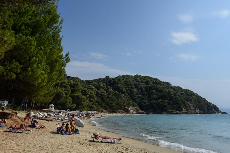 Banana Beach, Skiathos, Krasa Mpanana Beach, Griechenland, Strand, Strände, Reisebericht, Foto: Heiko Meyer, www.wo-der-pfeffer-waechst.de