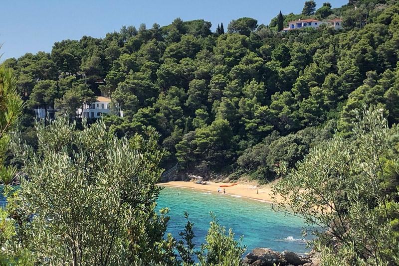 Diamandis Beach, Skiathos, Strand, Strände, Reisebericht, Griechenland, Foto: Heiko Meyer, www.wo-der-pfeffer-waechst.de