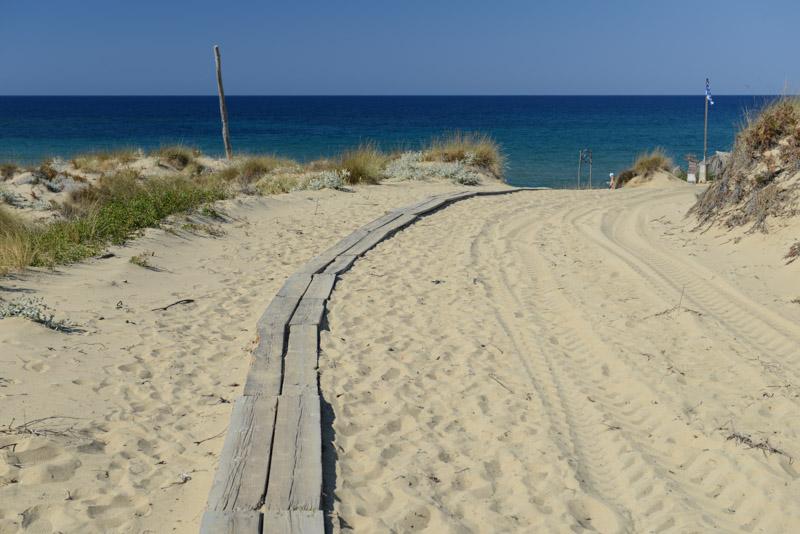 Elia Beach, Skiathos, Griechenland, Strand, Strände, Holzplanken, Reisebericht, Griechenland, Foto: Heiko Meyer, www.wo-der-pfeffer-waechst.de