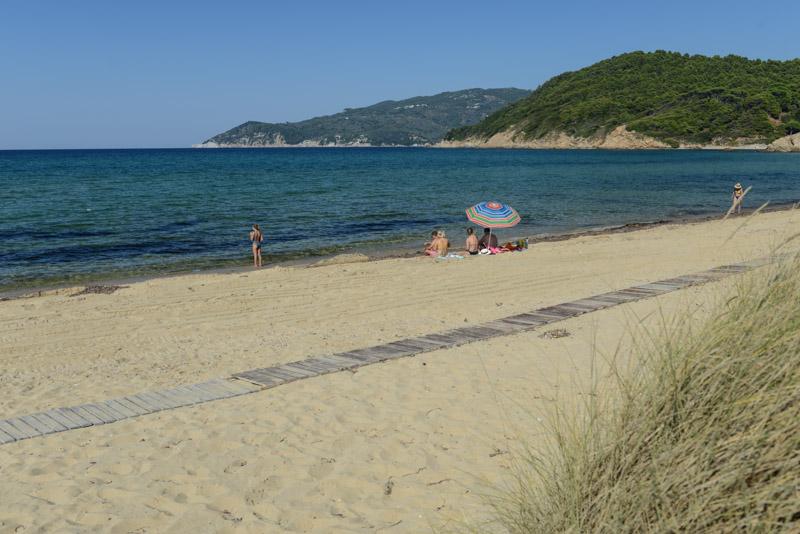 Elia Beach, Skiathos, Griechenland, Strand, Strände, Reisebericht, Griechenland, Foto: Heiko Meyer, www.wo-der-pfeffer-waechst.de