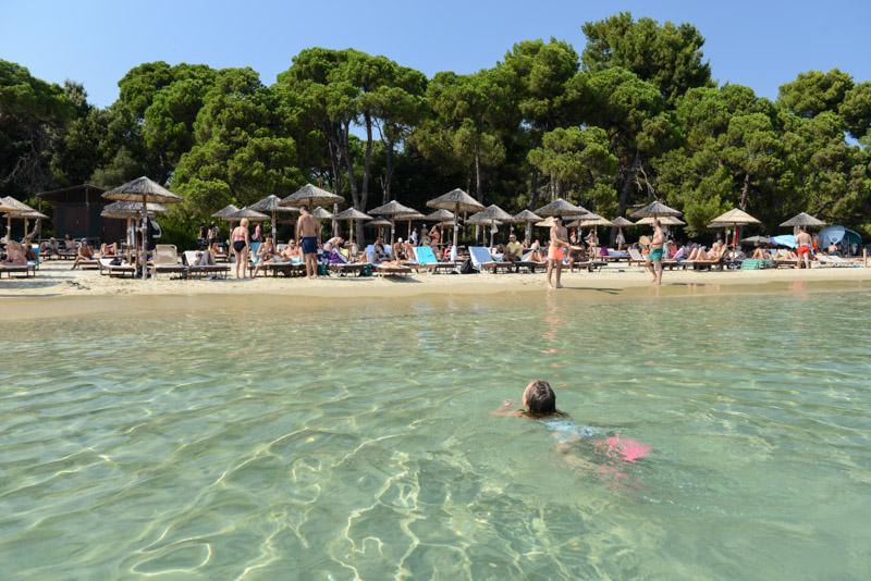 Koukounaries Beach, Skiathos, Griechenland, Strand, Strände, Reisebericht, Reisen mit Kindern, Foto: Heiko Meyer, www.wo-der-pfeffer-waechst.de
