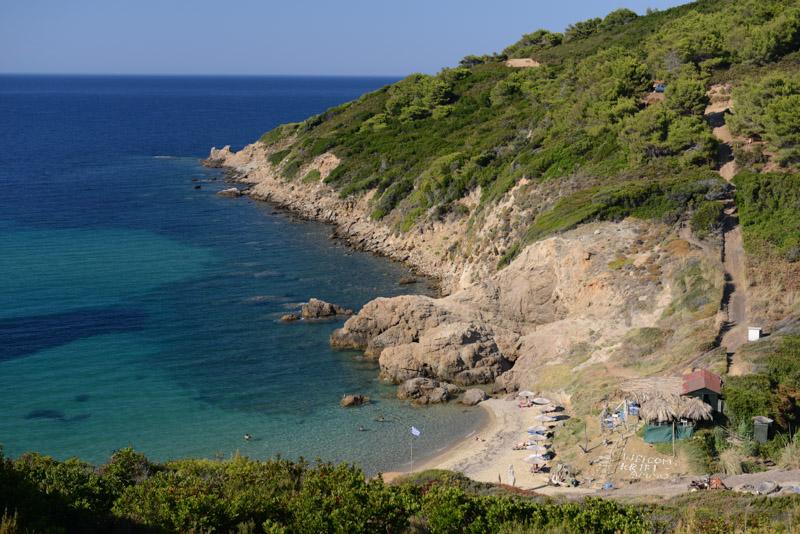 Krifi Ammos Beach, Skiathos, Griechenland, Strand, Strände, Reisebericht, Foto: Heiko Meyer, www.wo-der-pfeffer-waechst.de