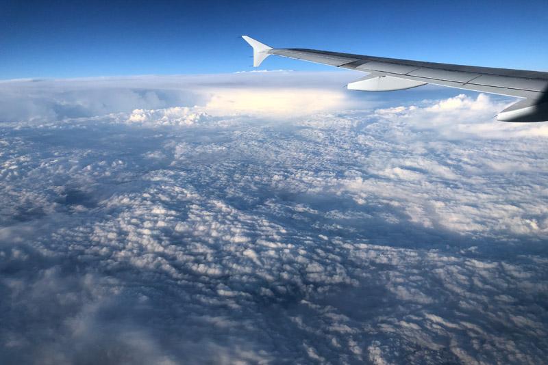Luftbild, Flug von München nach Skiathos, Griechenland, Condor, Reisebericht, Foto: Heiko Meyer, www.wo-der-pfeffer-waechst.de