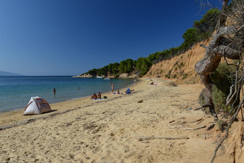 Mandraki Beach, Skiathos, Griechenland, Strand, Strände, Reisebericht, Foto: Heiko Meyer, www.wo-der-pfeffer-waechst.de