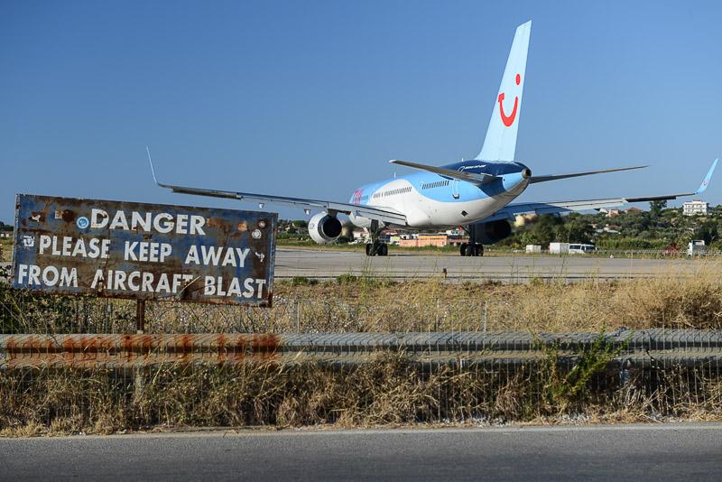 Skiathos, Airport, Alexandros Papadiamantis, Flughafen, Flugzeug, Griechenland, Reisebericht, Foto: Heiko Meyer, www.wo-der-pfeffer-waechst.de
