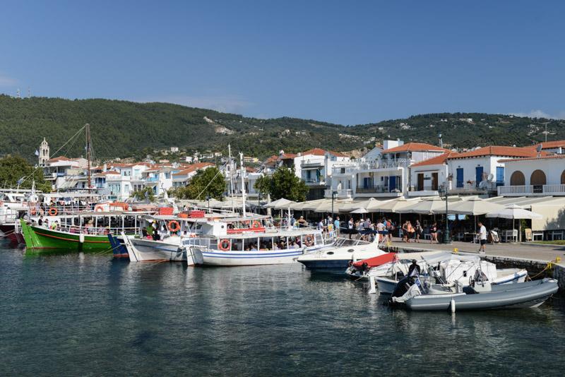 Skiathos-Stadt, Chora, Alter Hafen, Reisebericht, Griechenland, Foto: Heiko Meyer, www.wo-der-pfeffer-waechst.de