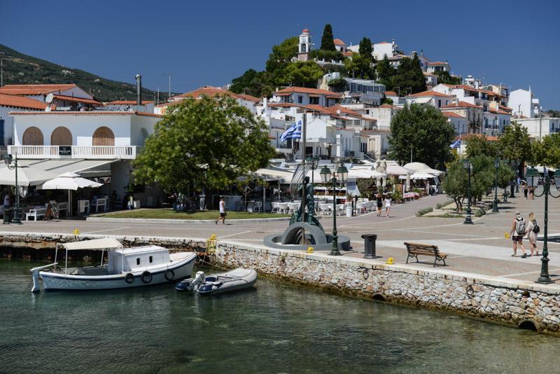 Skiathos-Stadt, Chora, Bourtzi-Halbinsel, Reisebericht, Griechenland, Foto: Heiko Meyer, www.wo-der-pfeffer-waechst.de