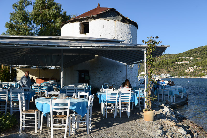 Skiathos-Stadt, Chora, Taverne, Reisebericht, Griechenland, Foto: Heiko Meyer, www.wo-der-pfeffer-waechst.de