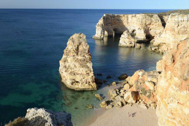 Algarve, Portugal, Strand, schönste Strände, best beaches, Praia da Marinha, Felsalgarve, Beach-Hopping, Reisen mit Kindern, Südeuropa, Bilder, Fotos, Reiseberichte, www.wo-der-pfeffer-waechst.de