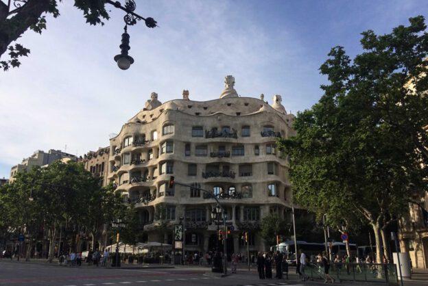 Barcelona, La Pedrera, Casa Milà, Antoni Gaudi, Reise nach Barcelona, Städtetrip, Städtereise, Wochenende, Reisetipps, Urlaub, Spanien, Katalonien, Hauptstadt, Reiseberichte, Blog, www.wo-der-pfeffer-waechst.de