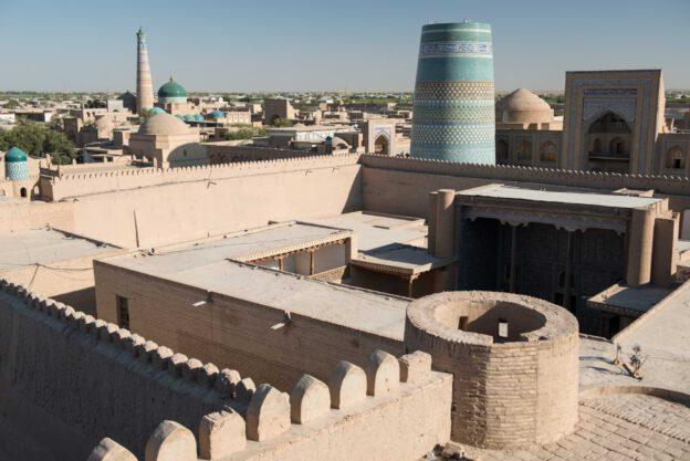 Chiwa, Khiva, Chiva, Xiva, Usbekistan, Uzbekistan, Seidenstraße, Kalas, Urgench, Reiseberichte, www.wo-der-pfeffer-waechst.de