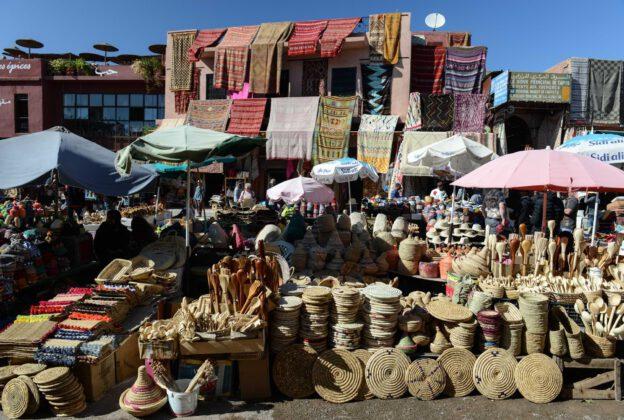 Marrakesch, Marokko, Highlights, Bilder, Infos, Reisebericht, mit Kind, Kinder, Städtetrip, Urlaub, Rahba Kedima, Sklavenmarkt, Medina, Reisetipps, Afrika, Reiseblogger, www.wo-der-pfeffer-waechst.de
