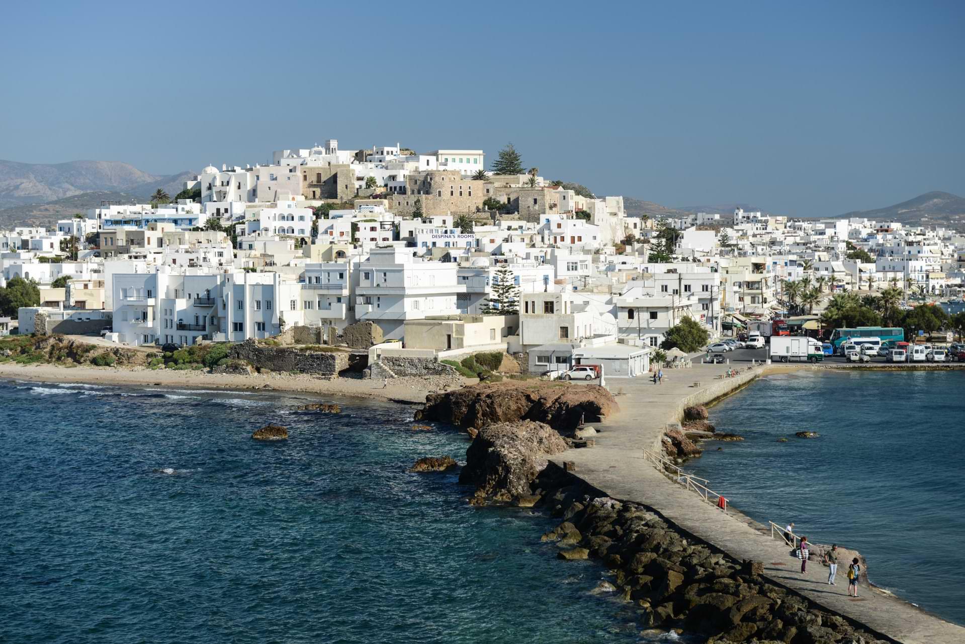 Naxos, Chora, Naxos-Stadt, Kykladen, Griechenland, Inselhüpfen, Island-Hopping, griechische, Inseln, Mittelmeer, Bilder, Fotos, Reiseberichte, www.wo-der-pfeffer-waechst.de