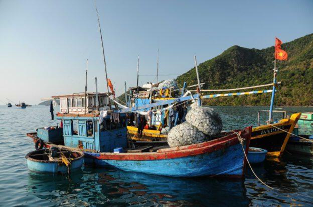Con Dao, Insel, Vietnam, Ben Dam, Reisebericht, Fischerboot, www.wo-der-pfeffer-waechst.de