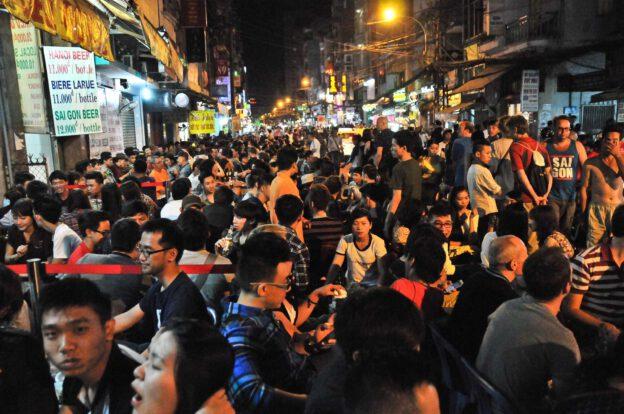 Ho-Chi-Minh-Stadt, HCM, Saigon, Reisebericht, Vietnam, Ham Ngu Lao Street, www.wo-der-pfeffer-waechst.de
