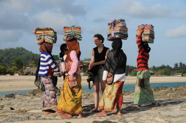 Indonesien, Indonesia, Insel, Lombok, Kuta, Beach, Strände, Strandverkäufer, Reiseberichte, www.wo-der-pfeffer-waechst.de